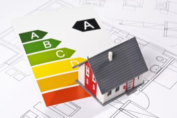 Maison économe en énergie classe A